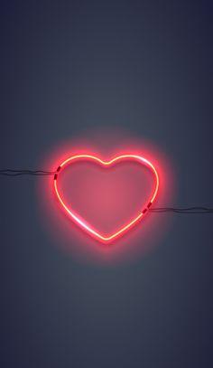I wallpaper, neon light wallpaper, heart iphone wallpaper, rose gold wallpa Emoji Wallpaper, Heart Wallpaper, Cute Wallpaper Backgrounds, Tumblr Wallpaper, Wallpaper Iphone Cute, Love Wallpaper, Pretty Wallpapers, Aesthetic Iphone Wallpaper, Galaxy Wallpaper