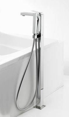 Trio Floor Mounted Bath/Shower Mixer Tap with Kit from Crosswater http://www.crosswater.co.uk/product/trio/trio-bath-shower-mixer-with-kit/