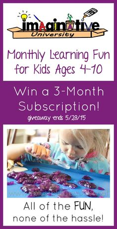 ImaginativeU Review and Giveaway ~ Awesome monthly kits for kids ages 4 through 10! {US only, giveaway ends 5.28.15}