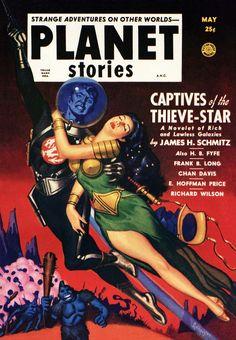 Galaxy Babes: The Gaudy, Brazen Cover Art Of Planet Stories | Kotaku Australia