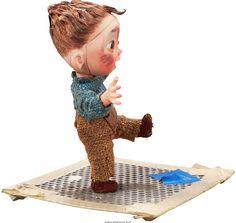 Animation Art:Puppet The Boxtrolls Baby Eggs Original Animation Puppet Laika Studios, Reds Bbq, The Good German, Illustration Story, Bbq Apron, Grilling Gifts, Summer Barbecue, Stop Motion, Sculpture