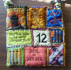 Hunger Games Quilted Bag