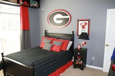 Georgia Bulldogs Dream Bedroom - Boys' Room Designs - Decorating Ideas - HGTV Rate My Space