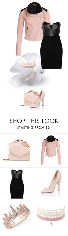 Gaborone by aroamoda on Polyvore featuring Mason by Michelle Mason, Roland Mouret, Paper Dolls, RALPH & RUSSO, Charlotte Russe and Anne Sisteron