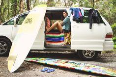 SURF, TAN, LIVE IN A MINI VAN.  Roam Australia