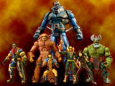 Marvel Legends Apocalypse Series // Pinned by: Marvelicious Toys - The Marvel Universe Toy & Collectibles Podcast [ m a r v e l i c i o u s t o y s . c o m ]