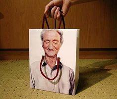 """Funny Shopping Bag"""