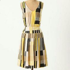 Anthropologie - Maeve - Otta Midi Dress - Sz 6