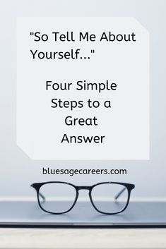 "Job interview tips | How to answer the question ""So tell me about yourself"" 