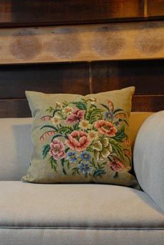 Cushions - I need to use my old heirloom embroidery to make cushions.