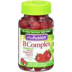 Send me some in remote Alaska: Vitafusion B Complex Gummy Vitamins for Adults, 70 gummies, Bottle (Pack of Fish Oil Benefits, Best Multivitamin, Vitamins For Energy, Metabolism Support, Vitamin B Complex, Prenatal Vitamins, Wild Strawberries, Brain Food, Vitamins And Minerals