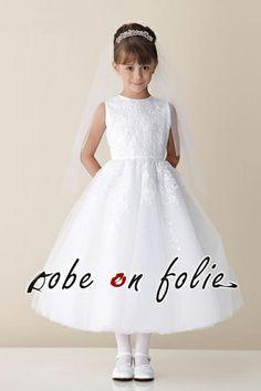 robe c r monie enfant robe de c r monie pour les filles on pinterest robe demoiselle d. Black Bedroom Furniture Sets. Home Design Ideas