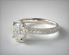 Engagement Ring Styles, Designer Engagement Rings, Diamond Engagement Rings, Ring Settings Only, Diamond Settings, James Allen Rings, Lab Created Diamonds, Crown Jewels, Dream Ring