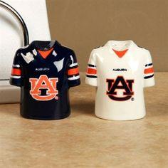 Auburn Tigers Gameday Ceramic Salt & Pepper Shakers