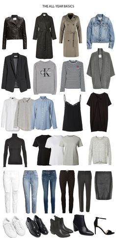 My own capsule wardrobe: spring 2017. | www.uselesswardrobe.dk | Bloglovin'