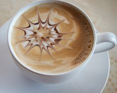 Coffee Photography - Fine Art Photography, coffee art, kitchen art, latte, froth, cafe, cream, brown on Etsy, $15.00