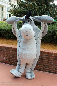 Eeyore at Disney Character Central