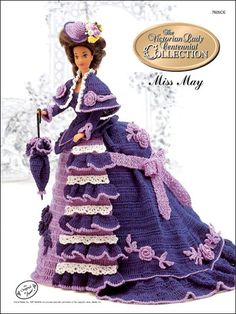 Barbie Crochet: Centennial Miss May 1993. $3.95 on e-PatternsCentral