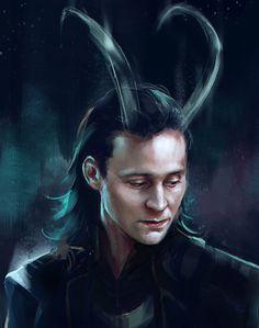 Loki Art Print by Feredir | Society6