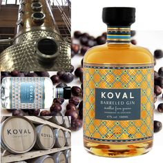 When finest GIN is matured in best US Whiskey casks: KOVAL BARRELED GIN