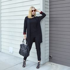 How to wear a choker necklace with a black outfit    For more style inspiration visit 40plusstyle.com