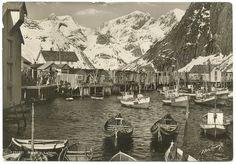 Lofoten, Arctic Circle, Fishing Villages, Old Pictures, Norway, Places, Islands, Landscapes, Album