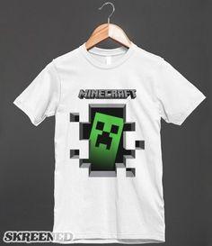 minecraft design t-shirt