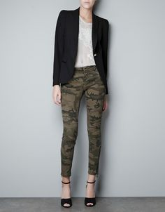 BLAZER WITH LOOPS ON THE SHOULDER - Blazers - Woman - ZARA United States