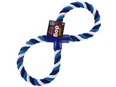 Figure Eight Dog Rope Toy - Set Of 12 (Pet Supplies, Pet Toys ) *** For more information, visit image link.