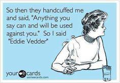 Eddie Vedder ❤️ @Roberta Montoro