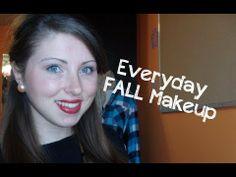 Tutorial | My Everyday Fall Makeup #fall #fallmakeup #fallbeauty #makeuptutorial #easymakeup #everydaymakeup #makep #fallmakeup #fall #beautyblogger #beauty #bblogger #youtube #sydneexo