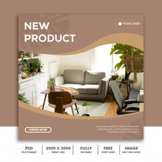 New product social media post template Food Graphic Design, Ad Design, Layout Design, Simon Walker, Social Media Banner, Social Media Design, Folder Design, Web Banner Design, Property Design