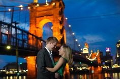 Downtown Cincinnati wedding - by Mandy Paige Photography.