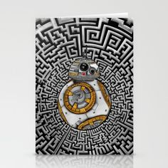 Aztec BB8 BB-eight droid robot iPhone 4 4s 5 5c 6, pillow case, mugs and tshirt @society6 #stationerycard #aztec #bb8 #droid #robot #hansolo #leia #skywalker #trooper #starwars