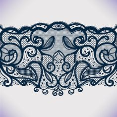 - Buy this stock vector and explore similar vectors at Adobe Stock Tattoo T, Tattoo Pain, Mommy Tattoos, Small Girl Tattoos, Lace Tattoo Design, Tattoo Flash Art, Lace Ribbon, Lace Patterns, Antique Lace