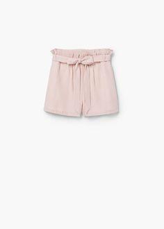Striped shorts | MANGO