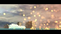 "Personal animated short ""Heat vs Repulsion"" by a 19-years-old Chinese student, nickname 光学核心(Optical-Core). Concept, animation, backgrounds, compositing all ..."