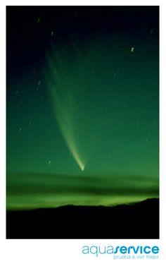 ¿Has contemplado el destello del Cometa Catalina? Te hablamos de él en el blog Aquaservice: http://www.aquaservice.com/informacion/el-cometa-catalina-nos-visita-este-invierno/