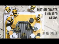 Making A Motion Crafts Animated Card - YouTube