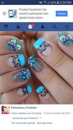 Nails, Beauty, Finger Nails, Beleza, Ongles, Nail, Nail Manicure