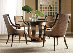 816-105 - Paragon 56-inch Round Dining Table - Artistica