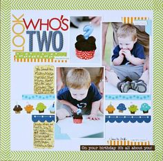 Look Who's Two..Brook Stewart..Birthday collection