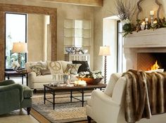 pottery barn living room gallery how to arrange a with fireplace and tv 250 best decorating images throw pillows accent bedroom design inspiration amp decor designs