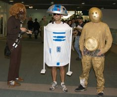 Top 10 Cosplay Costumes So Bad, They're Awesome - These Star Wars Guys  star-wars-cosplay  One of the worst parts of being a cosplayer is how you're forced to wear an often-impractical costume that's either uncomfortable, or difficult to move around in.  Read more: http://www.toptenz.net/top-10-cosplay-costumes-so-bad-theyre-awesome.php#ixzz2PEcR3OYd