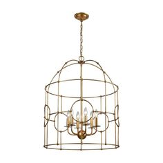 ELK-HOME-1141-102 Lantern Chandelier, Lantern Pendant, Chandelier Lighting, Chandeliers, Drum Pendant, Light Pendant, Gold Pendant, Faux Bamboo, Trends