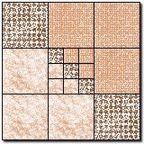 nine patch variation block