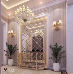Classic Home Decor Themes That Are Always In Style Modern Classic Interior, Classic Home Decor, Home Room Design, Living Room Designs, Mirror Decor Living Room, Entrance Hall Decor, Flur Design, Elegant Living Room, Luxury Interior Design