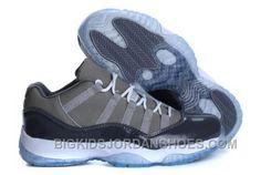 Cheap Nike Air Jordan 11 Low Mens Shoes Gray 2016 295254243