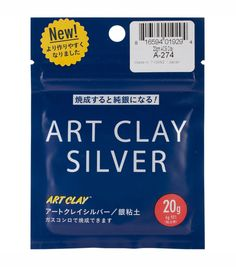 Art Clay Silver 650/1200 Low Fire Clay-20 Grams