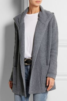 Chinti and Parker | Hooded merino wool and cashmere-blend cardigan | NET-A-PORTER.COM